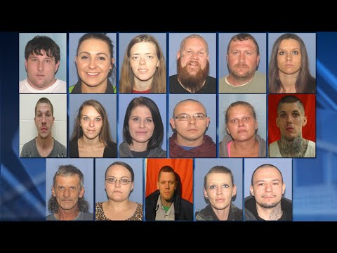 Sheriff: Several arrested in Pike Co  drug trafficking ring ran by