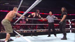 John Cena & Team Hell No vs The Shield Raw 13/5/2013 HD!