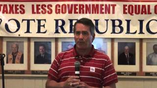 22nd Annual Barrow County Republican Party BBQ in Winder, Georgia 08/22/15