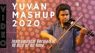 Yuvan Mashup 2020 | Tribute To The Little Maestro |Violin Version | Instrumental | HoneyBlazeVEVO |