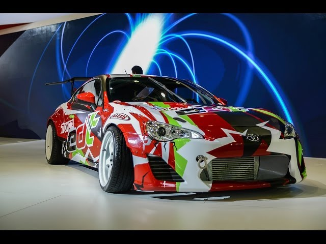 TOYOTA GT86 Drift Car & Concepts - Dubai International Motor Show Travel Video