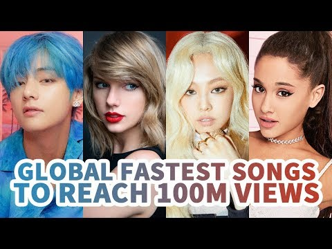 [TOP 30] FASTEST SONGS TO REACH 100 MILLION VIEWS ON YOUTUBE HISTORY