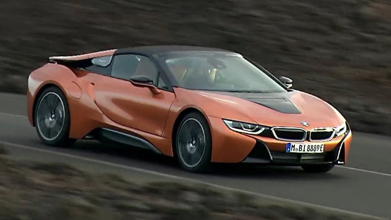 2018 Bmw I8 Roadster Driving Interior Youtube