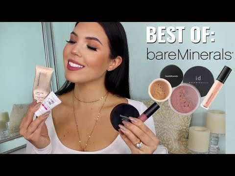 BEST OF BAREMINERALS - Why I Love This Brand So Much!!! BareMinerals Brand Review | Faith Drew
