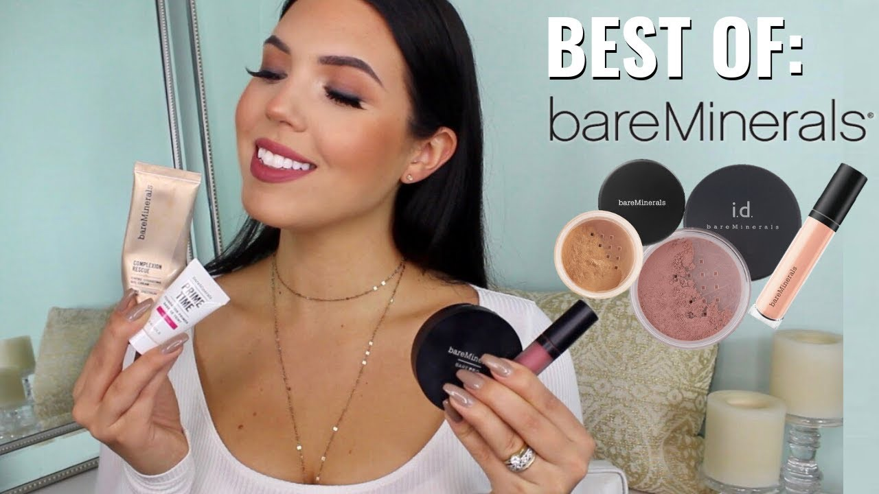f3fa0a86160 BEST OF BAREMINERALS - Why I Love This Brand So Much!!! BareMinerals Brand  Review | Faith Drew