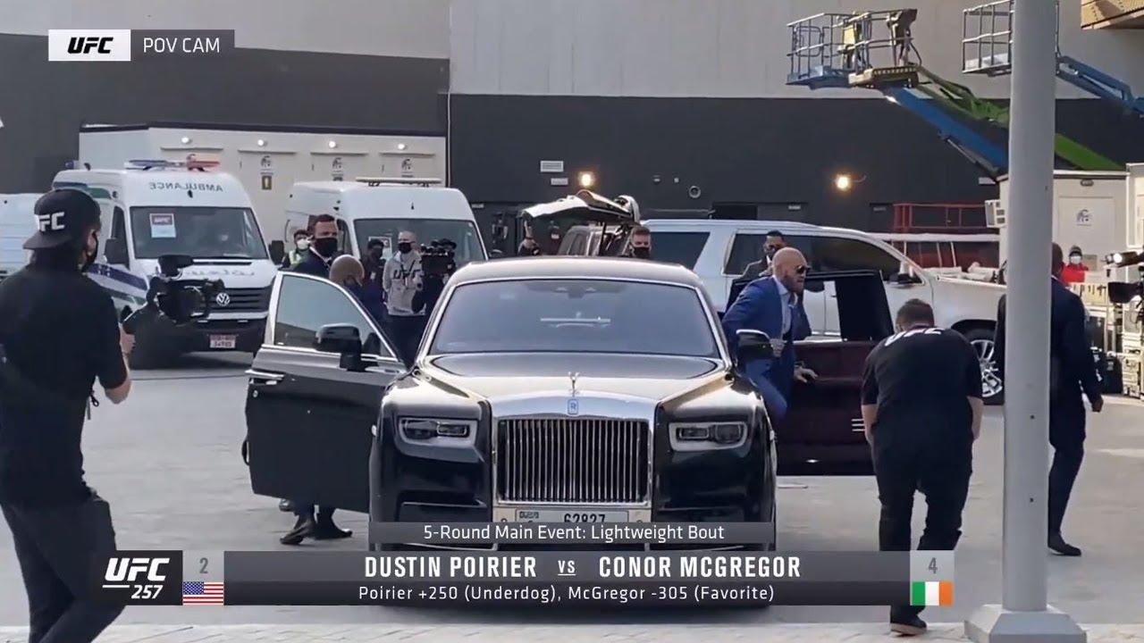 Conor McGregor Arrival | UFC 257 Quick Hits
