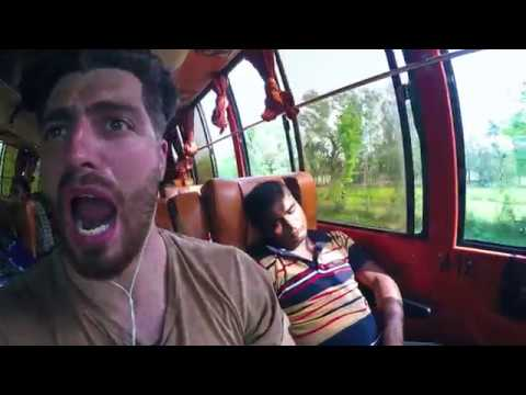 🇧🇩 Never ever take the bus in Bangladesh! It is suicide! - #9 Road to Bangladesh