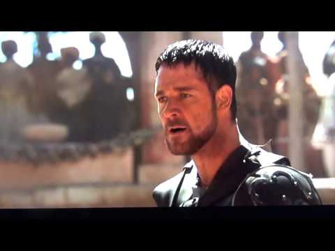Are you not entertained?... Gladiator scene