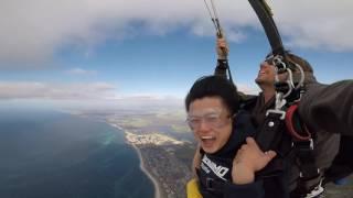 日常 of Australia Boys __ 澳洲Skydive跳傘篇。 Australia Boy Skydiveing.