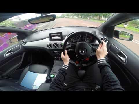 Mercedes B Class W246 POV Test Drive Automatic Diesel