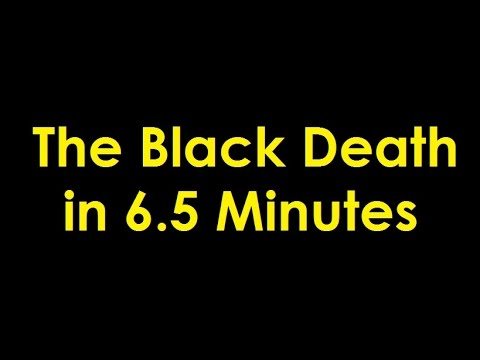 The Black Death in 6.5 Minutes