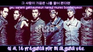 (Sub. Español + Rom) Even If You leave me - 2PM