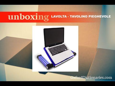 Lavolta Tavolino Pieghevole.Unboxing Lavolta Tavolino Pieghevole
