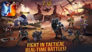 Infernals - Heroes of Hell Gameplay Android / IOS