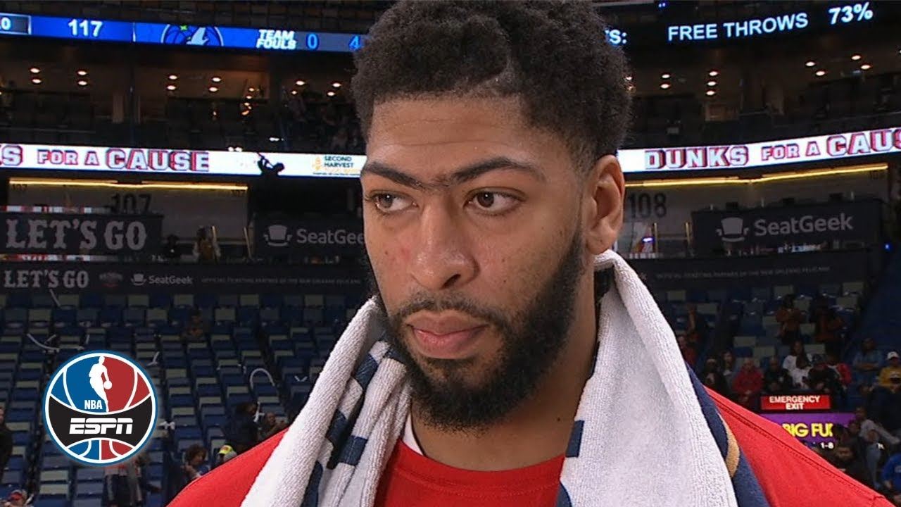 Anthony Davis speaks on 4th Qtr benching, return to Pelicans after trade deadline | After The Buzzer