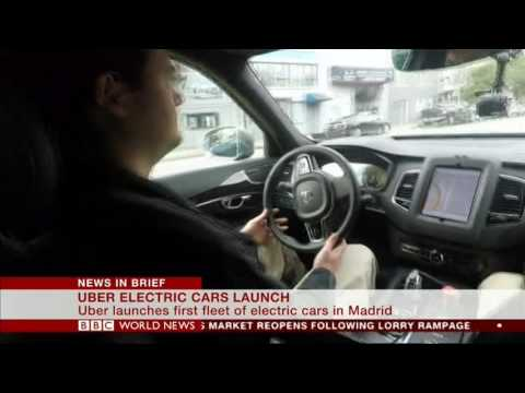 UBER Electric cars launch
