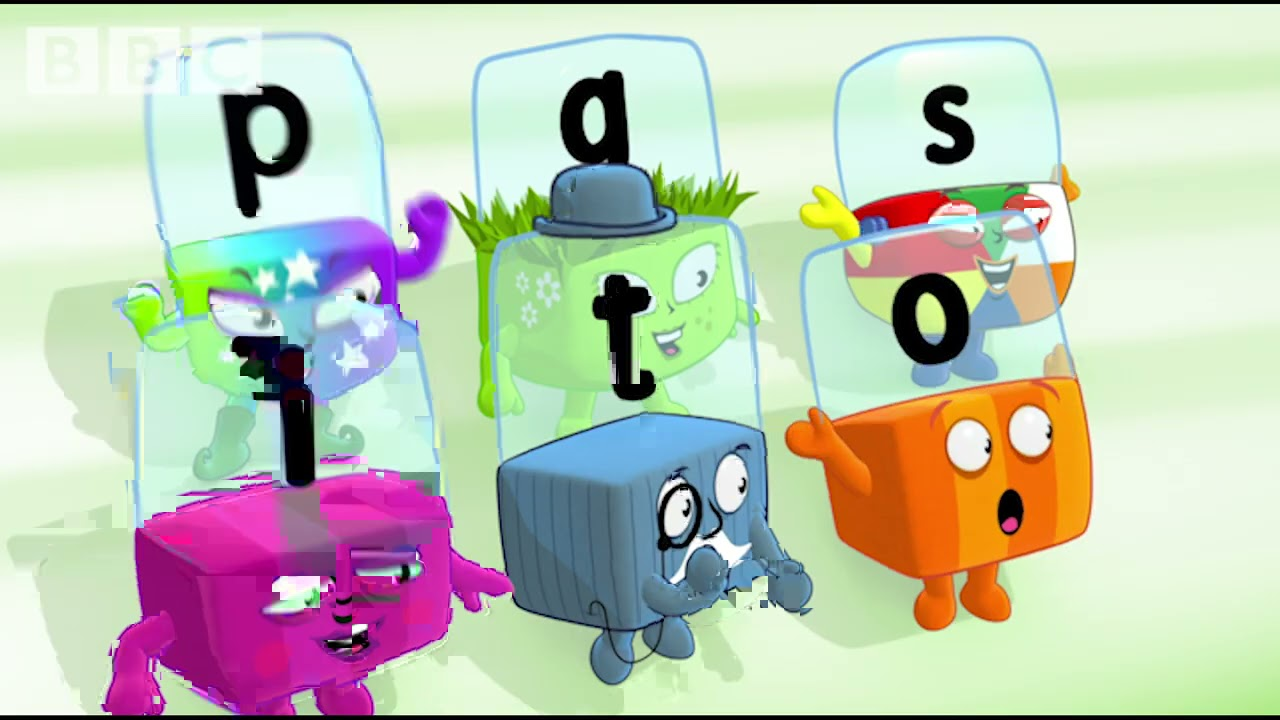 @Alphablocks - Who Will Win The Big Letter Race? | Learn to Read | Learning Blocks