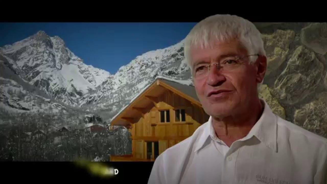 Film Chalet Lombard Vasina Presentation Hautes Alpes Youtube