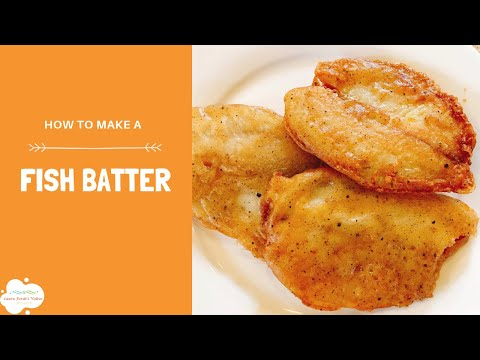Basic Gluten Free Batter For Fried Fish | Fried Food