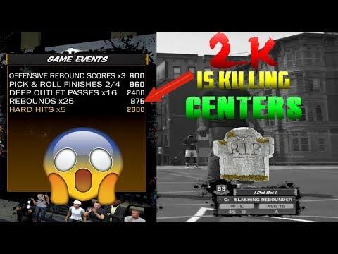 R.I.P. CENTERS in 2K18