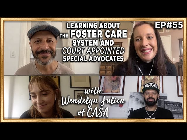 Learning About the Foster Care System with Wendelyn Julien of CASA - Back to School with Maz Jobrani