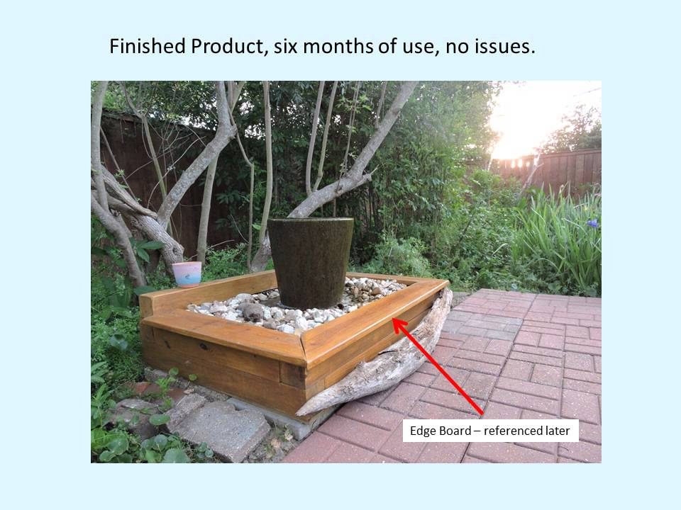 DIY vase fountain water treatment system for goldfish pond ...
