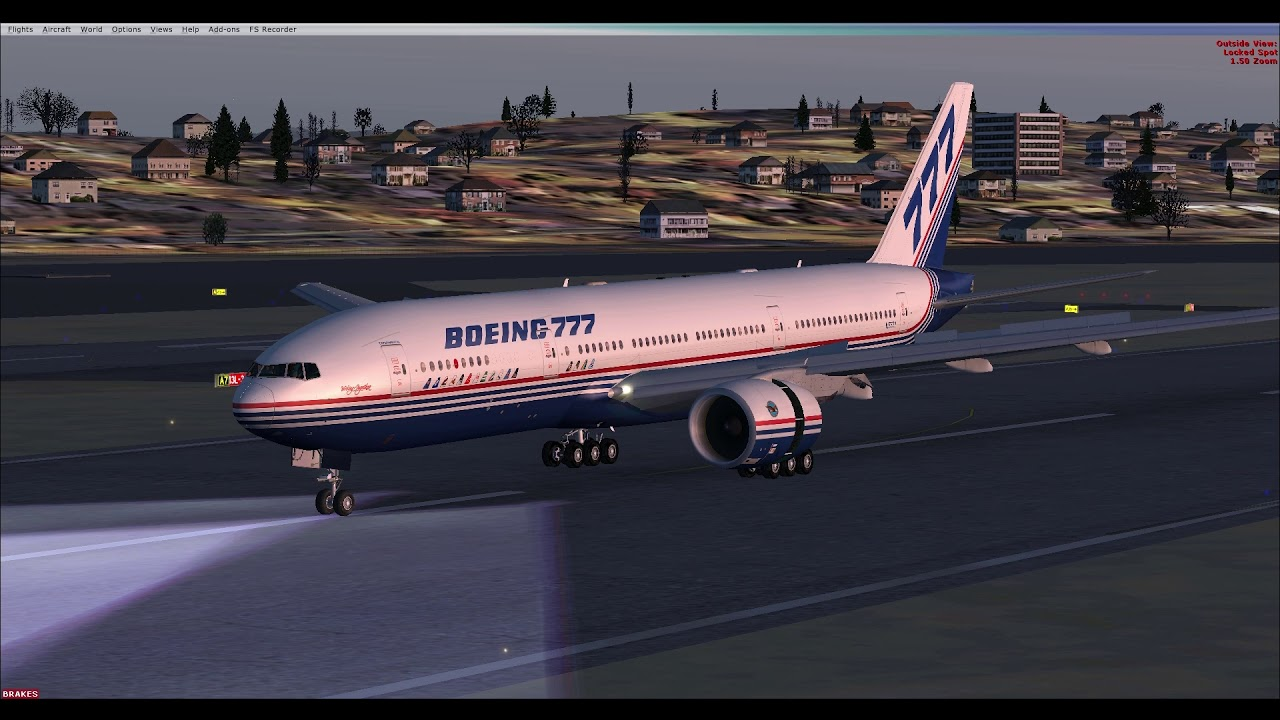 POSKY 777 FSX - WORLDS BEST FREEWARE AIRLINER 777