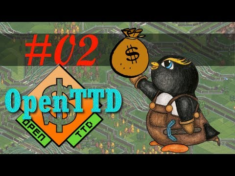 Jerry plays OpenTTD - Episode 2 - Goody-two-trains