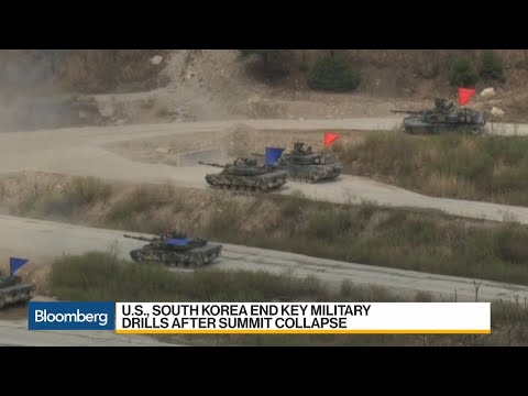 U.S., South Korea End Key Military Drills After Summit Collapse
