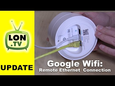 Google Wifi Update: Connect Remote Units Via Ethernet / MOCA vs. Wirelessly How To