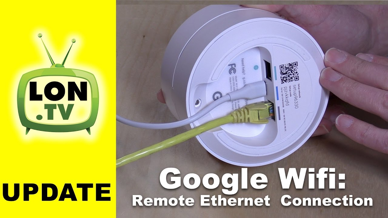 Google Wifi Update Connect Remote Units Via Ethernet Moca Vs Printers With Wired Network Cable Diagram Wirelessly How To Youtube