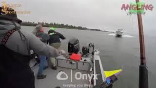 Deep sea Fishing accident