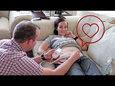 We Heard the Heartbeat on the Fetal Doppler! // 9 Weeks