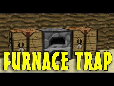 Minecraft: Furnace TNT Trap - Redstone Tutorials 1.7.4 ...