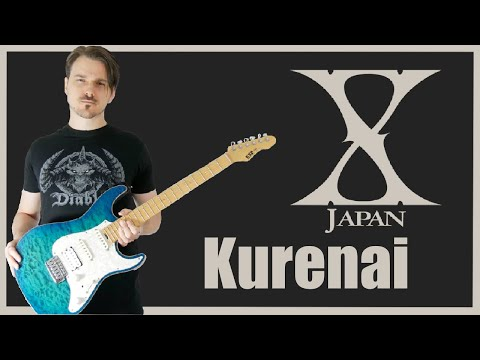 X Japan - Kurenai 紅 (Guitar Cover HD)