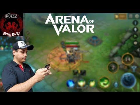 Arena of Valor - Aquecimento para o campeonato  - Clan SDN