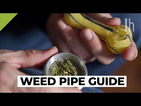How to Pick and Smoke a Weed Pipe   Total Beginner's Guide to Weed