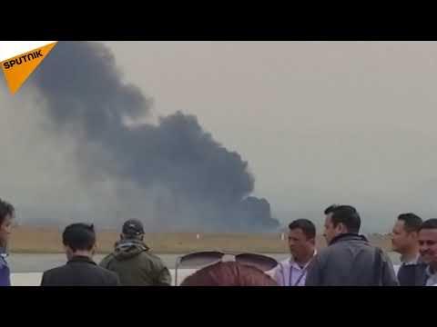 Bangladeshi Plane Crashes in Nepal's Kathmandu