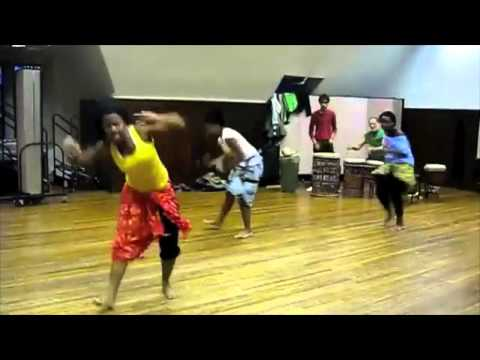 African Funk Groove Dance  What you are trained not to see...