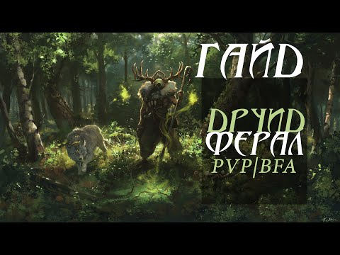 Общий гайд на Друида Ферала в Пвп! БФА 8.2 ● WoW BFA 8.2 ●PvP\BFA