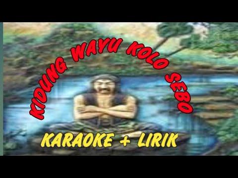 Kidung Wahyu Kolo Sebo Karaoke No Vokal Cover Uud