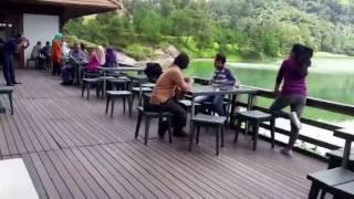 Pesona Danau Linow dan Bukit Doa Tomohon, Manado, Sulut