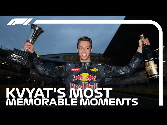 Daniil Kvyat's Most Memorable Moments In F1