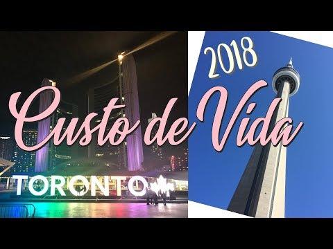 CUSTO DE VIDA EM TORONTO (2018)