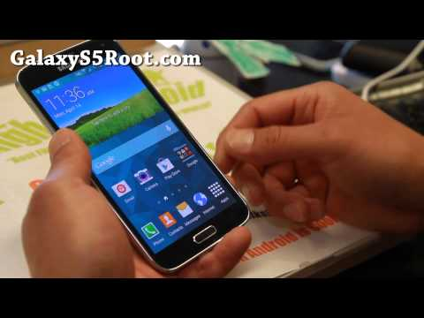 How to Root Galaxy S5!