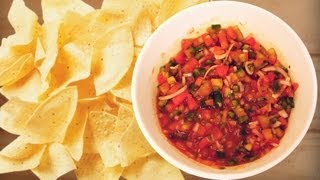 How To Make Best Tangy And Easy Salsa Dip By Joel
