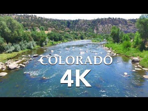 Colorado (4K) 'Beyond the Rockies' Drone Film - DJI Inspire 1 / Chroma