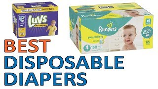 5 Best Disposable Diapers 2018 Reviews