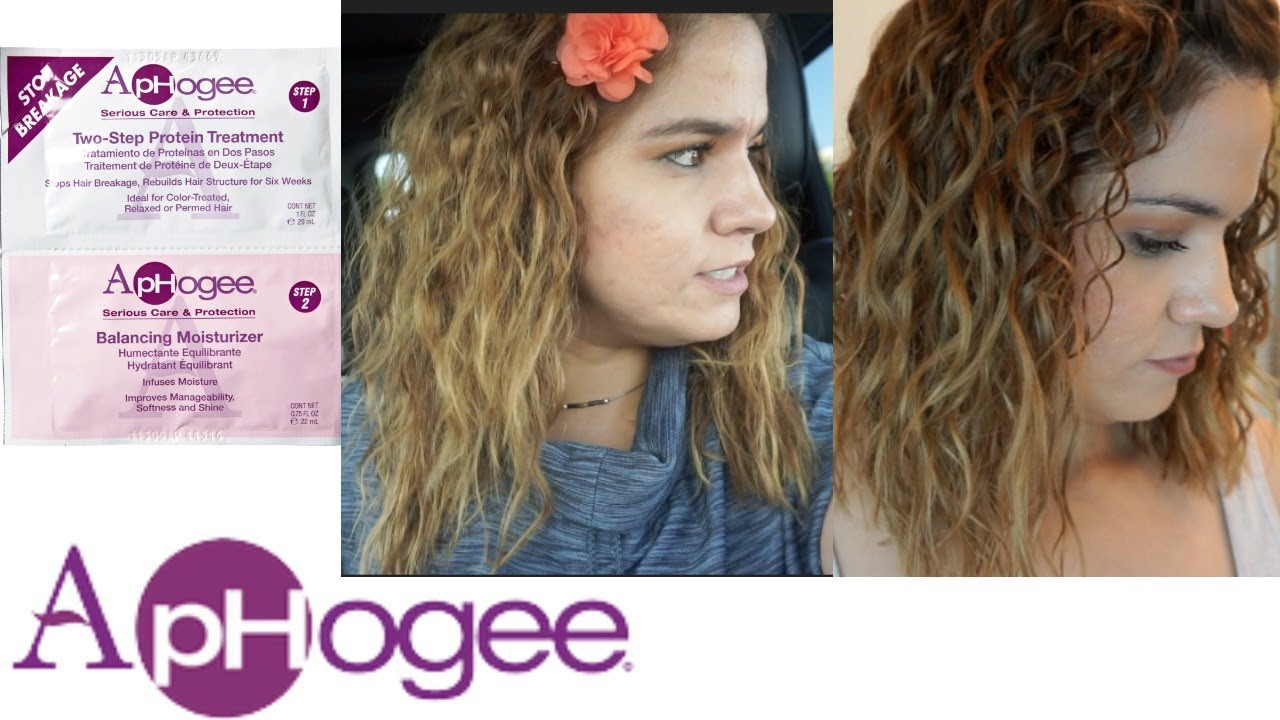 Aphogee 2 Step Protein Treatment Review Demo Fix Damaged Hair