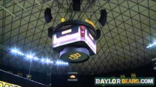 Baylor Athletics:  Ferrell Center Scoreboard